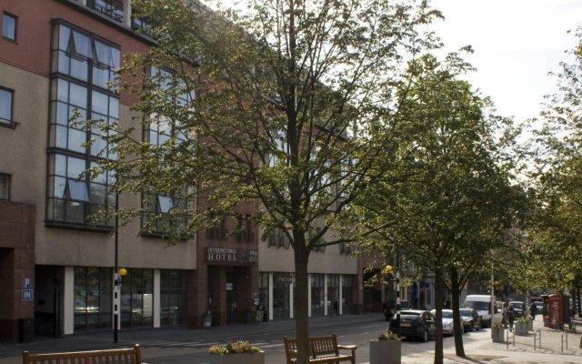 Отель Apex Grassmarket Эдинбург вид на фасад