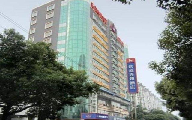 Hanting Hotel Nanchang Bayi Square Fuzhou Road Branch вид на фасад