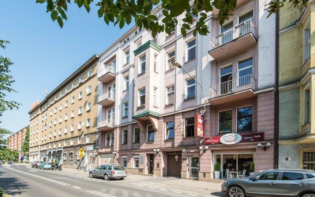 Отель Bliss Apartaments San Francisco Польша, Познань - отзывы, цены и фото номеров - забронировать отель Bliss Apartaments San Francisco онлайн вид на фасад