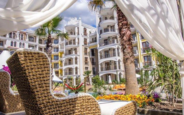 Отель Harmony Suites Monte Carlo Болгария, Солнечный берег - 1 отзыв об отеле, цены и фото номеров - забронировать отель Harmony Suites Monte Carlo онлайн вид на фасад