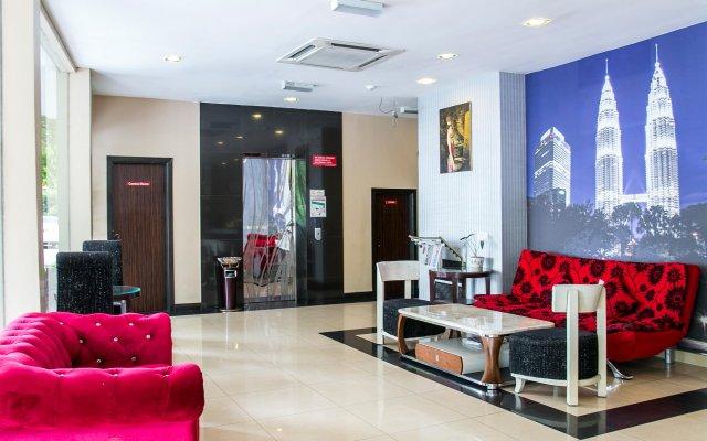 Отель OYO 173 De Nice Inn Малайзия, Куала-Лумпур - отзывы, цены и фото номеров - забронировать отель OYO 173 De Nice Inn онлайн интерьер отеля