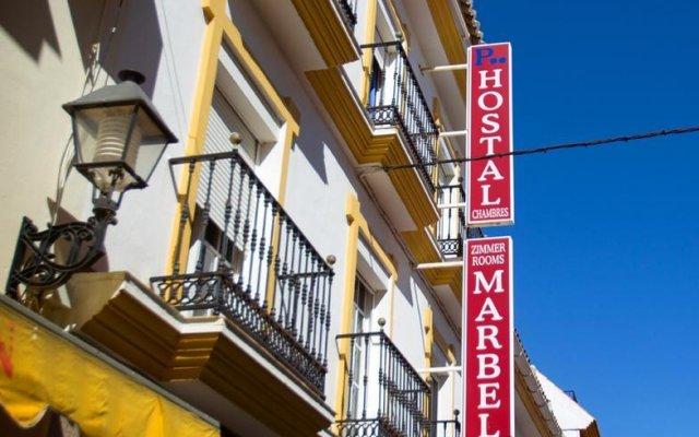 Hotel Hostal Marbella вид на фасад