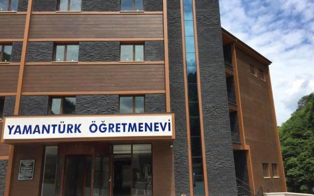 Yamanturk Ogretmenevi Турция, Чамлыхемшин - отзывы, цены и фото номеров - забронировать отель Yamanturk Ogretmenevi онлайн вид на фасад
