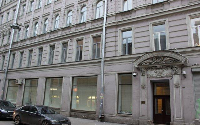 Гостиница Невский 140 вид на фасад