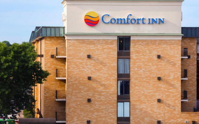 Отель Comfort Inn MSP Airport - Mall of America США, Блумингтон - отзывы, цены и фото номеров - забронировать отель Comfort Inn MSP Airport - Mall of America онлайн вид на фасад