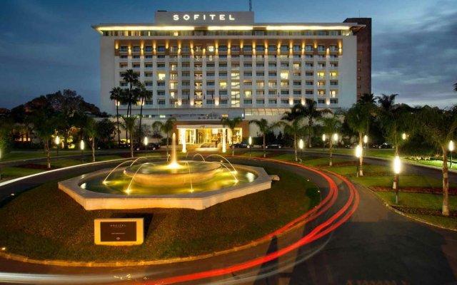 Отель Sofitel Rabat Jardin des Roses вид на фасад