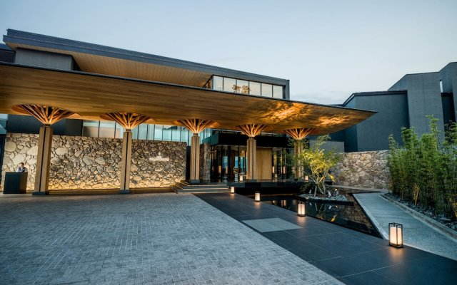 Отель Intercontinental - Ana Beppu Resort & Spa Беппу вид на фасад