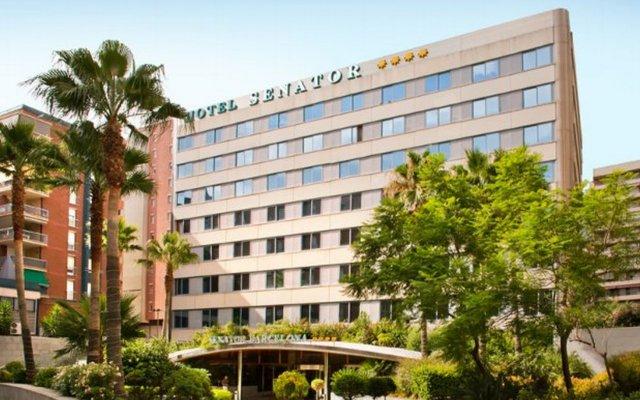 Senator Barcelona Spa Hotel вид на фасад