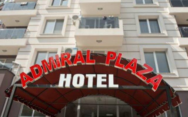 Admiral Plaza Hotel вид на фасад