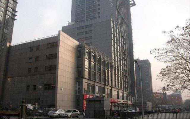 Free Town Apartment Hotel Пекин вид на фасад