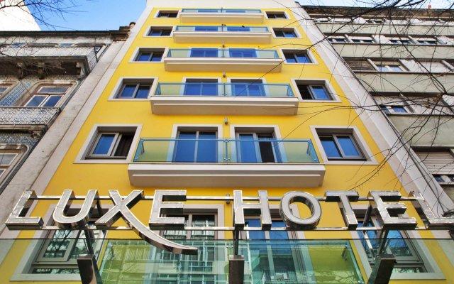 Отель Luxe Hotel by turim hotéis Португалия, Лиссабон - 4 отзыва об отеле, цены и фото номеров - забронировать отель Luxe Hotel by turim hotéis онлайн вид на фасад