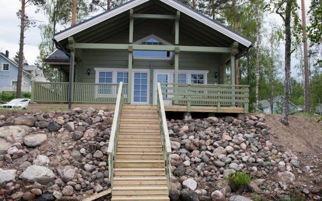 Отель SResort Sauna Villas Финляндия, Лаппеэнранта - отзывы, цены и фото номеров - забронировать отель SResort Sauna Villas онлайн вид на фасад