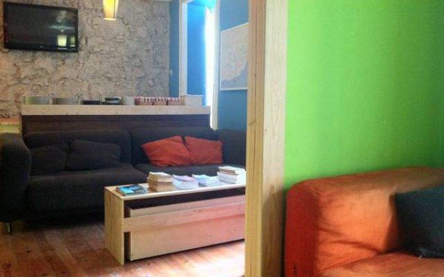 Alface Hostel Лиссабон комната для гостей