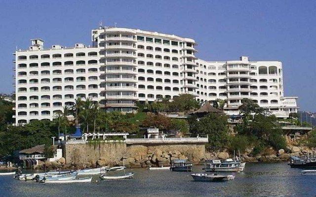 Отель Caleta Beach Resort Мексика, Акапулько - отзывы, цены и фото номеров - забронировать отель Caleta Beach Resort онлайн вид на фасад