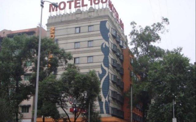 Отель Motel 168 Chengdu ShuangQiao Road Inn Китай, Чэнду - отзывы, цены и фото номеров - забронировать отель Motel 168 Chengdu ShuangQiao Road Inn онлайн вид на фасад