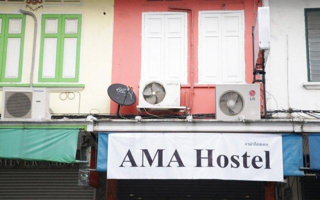 Ama Hostel Бангкок вид на фасад
