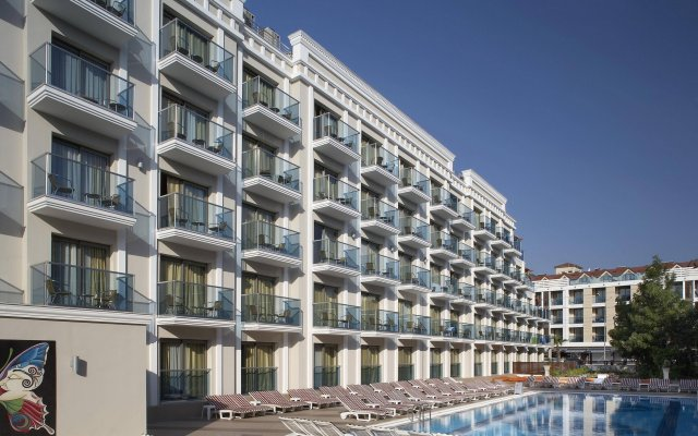 Emre Beach Hotel Турция, Мармарис - отзывы, цены и фото номеров - забронировать отель Emre Beach Hotel онлайн вид на фасад