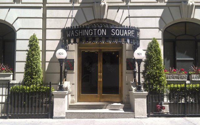 Washington Square Hotel вид на фасад