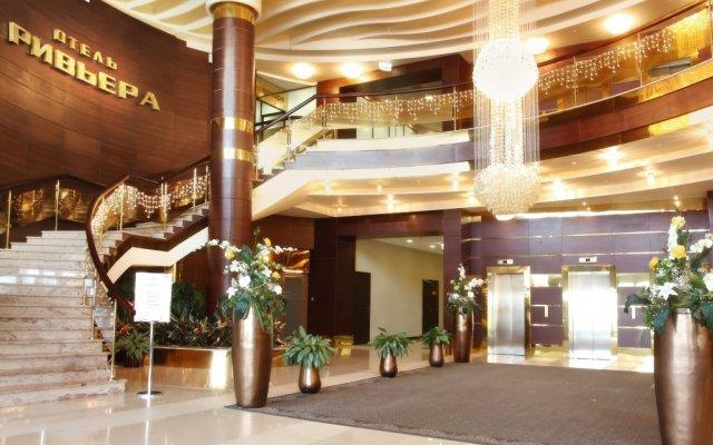 Гостиница Ривьера вид на фасад