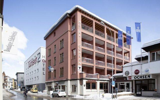 Отель Ochsen Швейцария, Давос - отзывы, цены и фото номеров - забронировать отель Ochsen онлайн вид на фасад