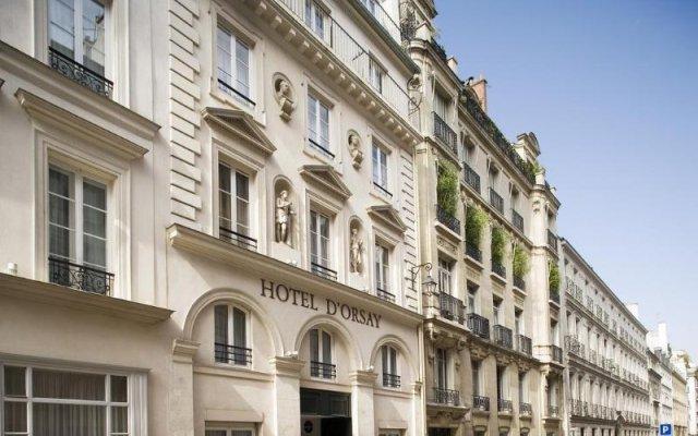 Hotel D'orsay Париж вид на фасад
