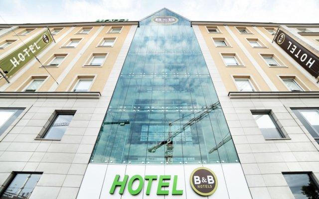 B&b Hotel Wrocław Centrum Вроцлав вид на фасад
