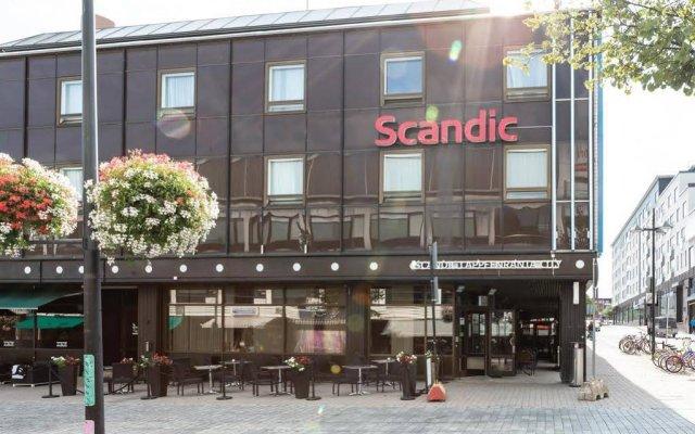 Отель Scandic Lappeenranta City Лаппеэнранта вид на фасад