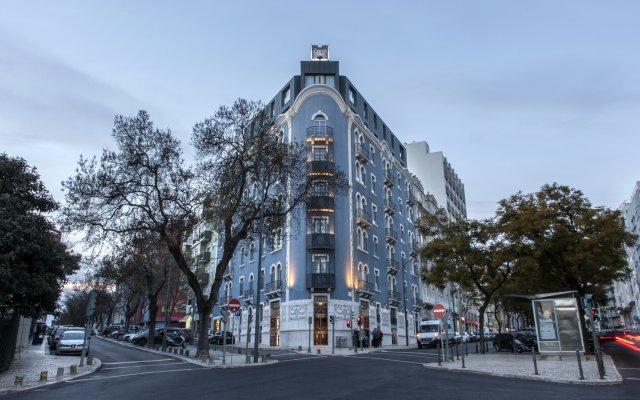 Hotel Zenit Lisboa вид на фасад