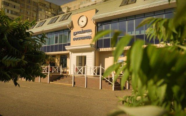 Отель Британика Краснодар вид на фасад