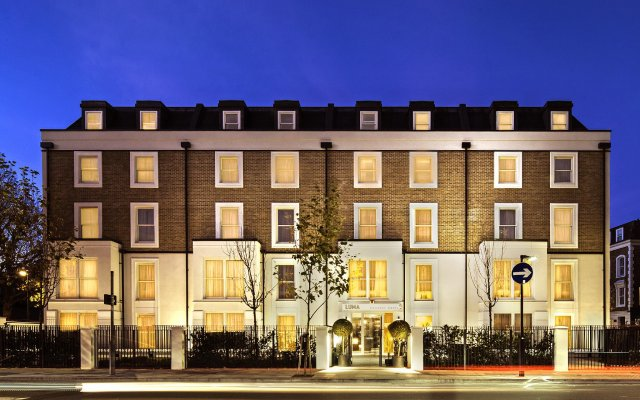 LUMA Concept Hotel Hammersmith вид на фасад