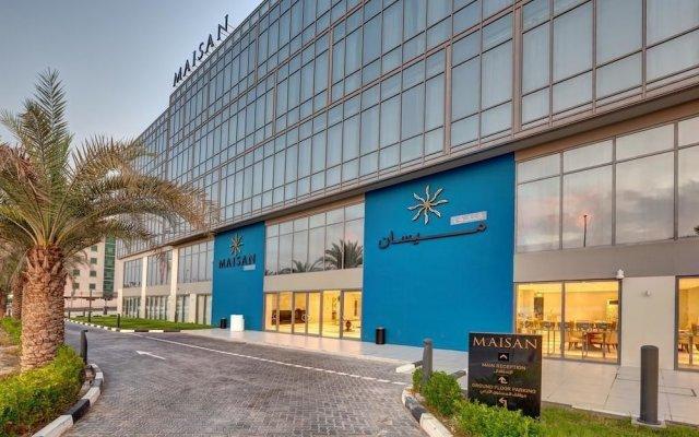 Maisan Hotel вид на фасад