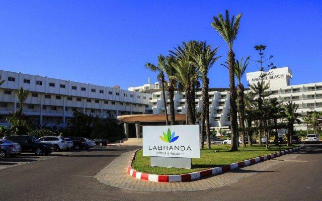 Отель Labranda Atlas Amadil вид на фасад