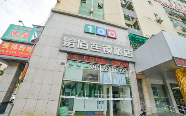 Отель 100 Inn Xiamen Canghong Road вид на фасад