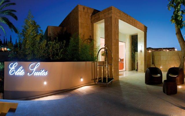 Отель Amathus Elite Suites вид на фасад