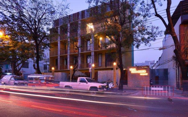 Отель Villa Phra Sumen Bangkok Таиланд, Бангкок - отзывы, цены и фото номеров - забронировать отель Villa Phra Sumen Bangkok онлайн вид на фасад