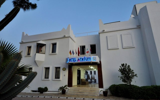 Отель Otel Atrium вид на фасад