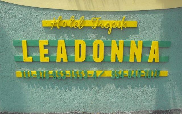 Отель Tropik Leadonna Ямайка, Монтего-Бей - отзывы, цены и фото номеров - забронировать отель Tropik Leadonna онлайн вид на фасад