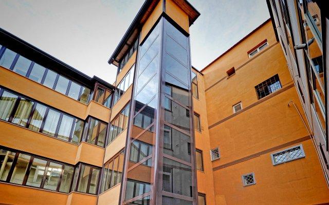 Hotel Barbato вид на фасад