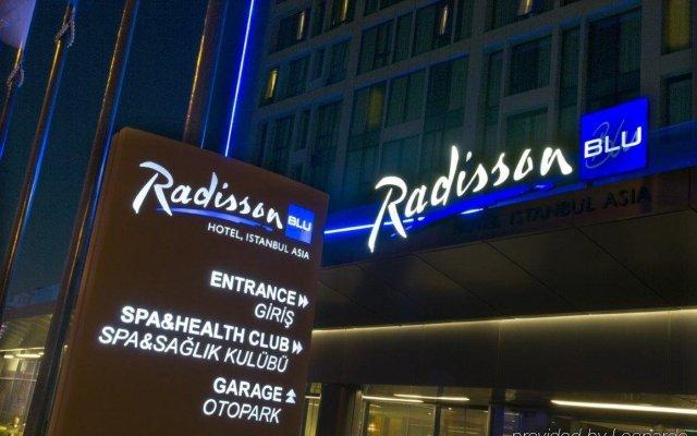 Radisson Blu Hotel Istanbul Asia вид на фасад