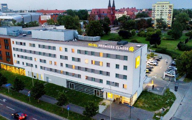 Отель Premiere Classe Centrum Вроцлав вид на фасад