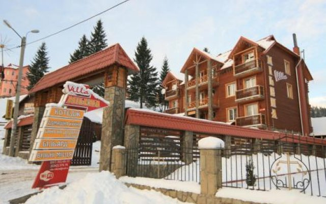 Гостиница Villa Milena вид на фасад