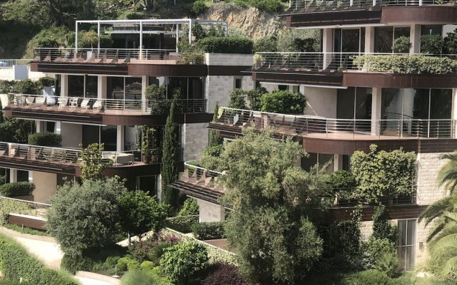 Отель Apartament Dykley Gardens Черногория, Будва - отзывы, цены и фото номеров - забронировать отель Apartament Dykley Gardens онлайн вид на фасад