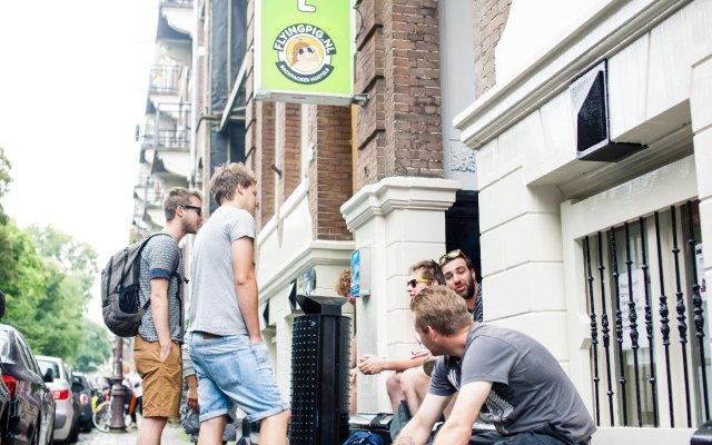 Отель Flying Pigs Uptown Hostel Amsterdam Нидерланды, Амстердам - отзывы, цены и фото номеров - забронировать отель Flying Pigs Uptown Hostel Amsterdam онлайн вид на фасад