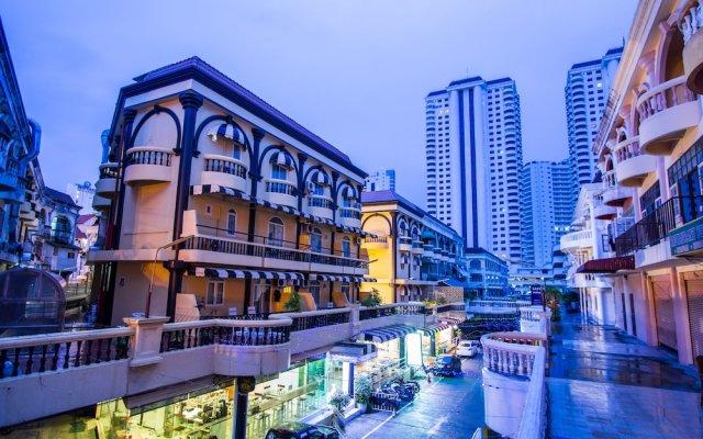 Отель Zing Resort & Spa Таиланд, Паттайя - 11 отзывов об отеле, цены и фото номеров - забронировать отель Zing Resort & Spa онлайн вид на фасад