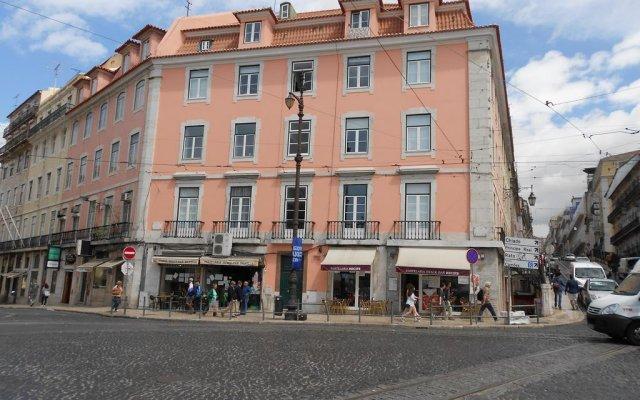 Отель Pensao Duque da Terceira - Guesthouse вид на фасад