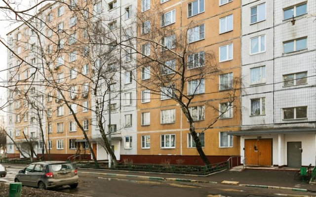 Апартаменты Flats of Moscow Apartment Kustanayskaya вид на фасад