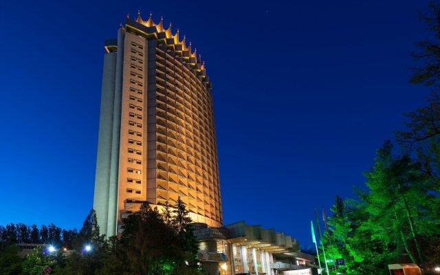 Казахстан Отель вид на фасад