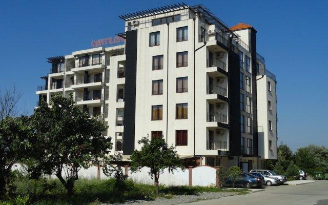 Отель Cantilena Hotel Болгария, Солнечный берег - отзывы, цены и фото номеров - забронировать отель Cantilena Hotel онлайн вид на фасад