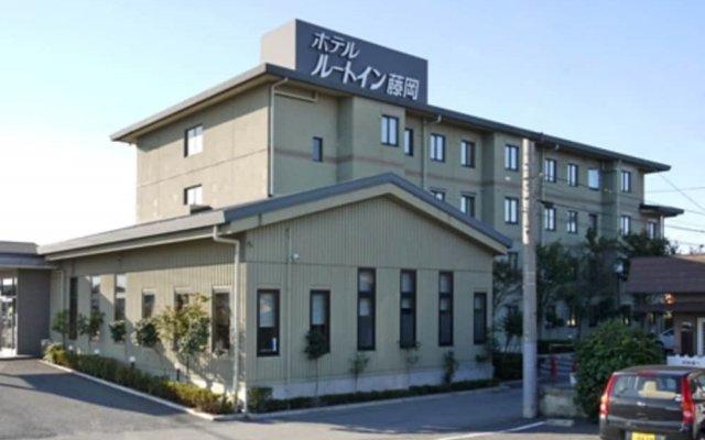 Hotel Route-Inn Court Fujioka вид на фасад