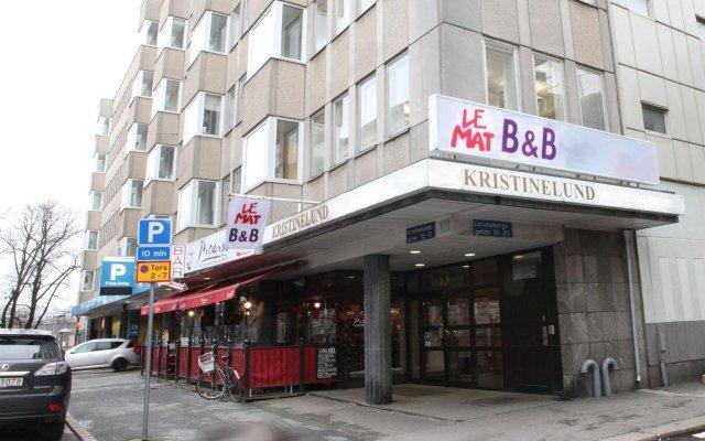 Отель Le Mat B&B Göteborg City вид на фасад